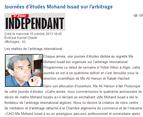 Colloque d'Alger arbitrage et médiation 2013