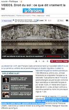 Droit du sol réforme de la loi - Le parisien
