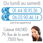 Contact Cabinet d'avocats Hached